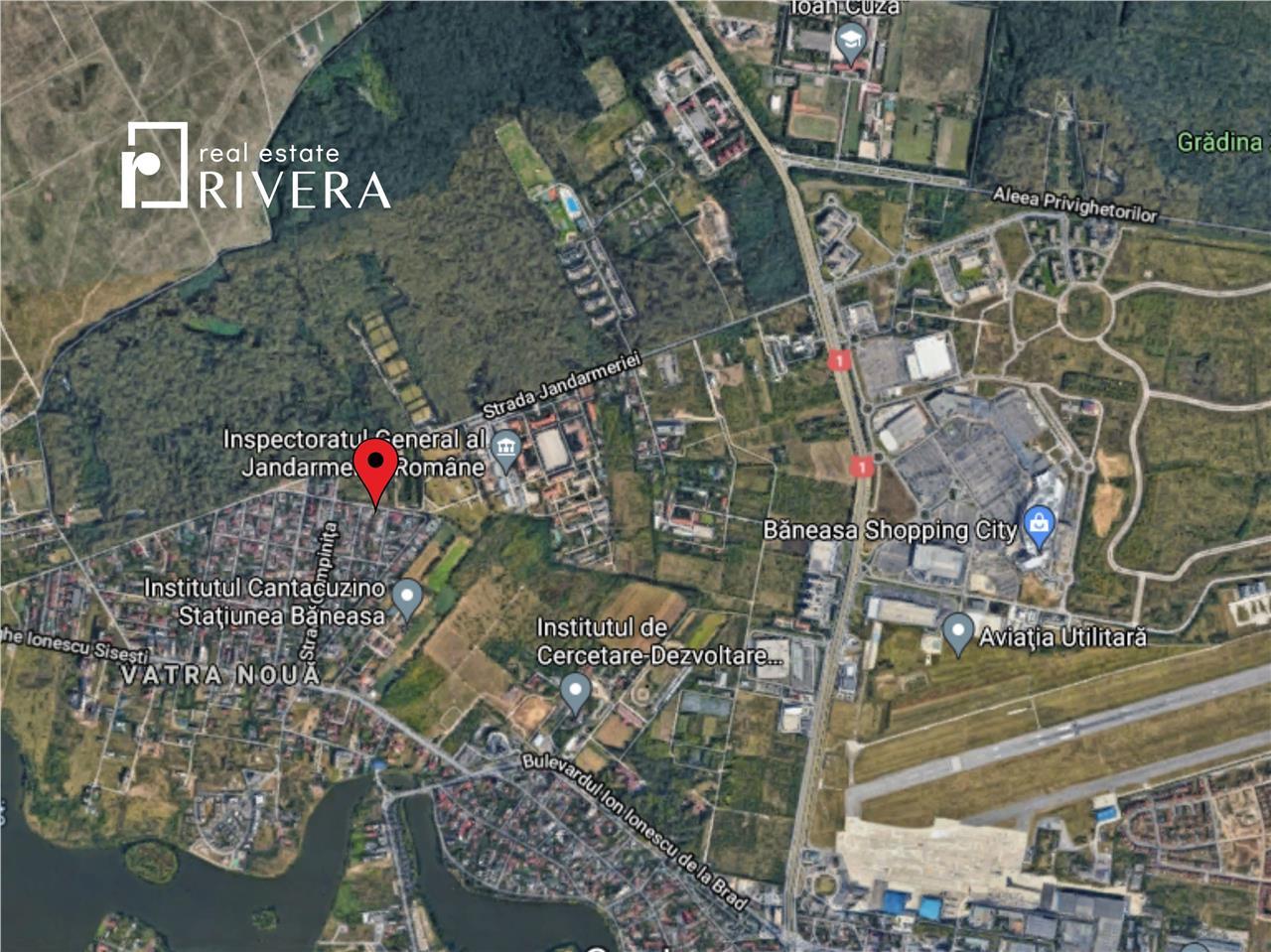 Teren intravilan 335 mp | Baneasa  Sisesti, Jandarmeriei
