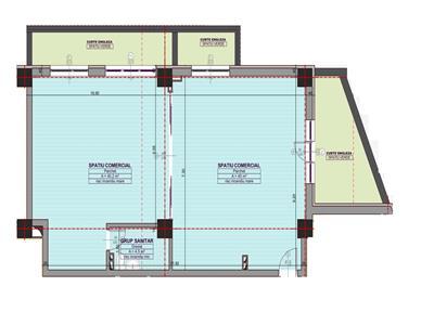 Spatiu comercial 2 camere Bucium, la Bulevard | Inclus si spatii verzi | Situat in cartier rezidential