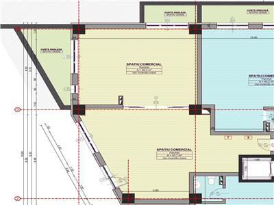 Spatiu comercial 2 camere | Bucium | la Bulevard | Inclus si spatiu verde | Situat in cartier rezidential