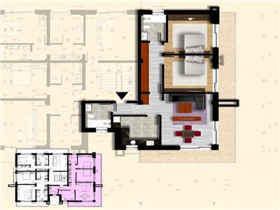 Apartament 3 camere | Bucium