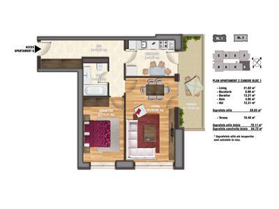 Apartament 2 camere Timpuri Noi | Bloc Nou | Perfect pentru investitii | La 2 minute de metrou