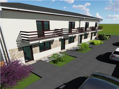 Case insiruite   3 camere cu gradina   Loc Parcare inclus