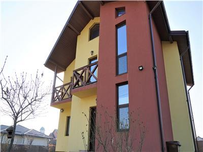 Vila 4 camere, 3 bai, dressing, beci | Teren 500 mp | Valea Ursului