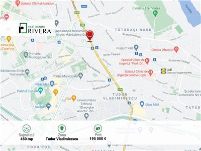 Teren la bulevardul Tudor Vladimirescu | Oportunitate de investie
